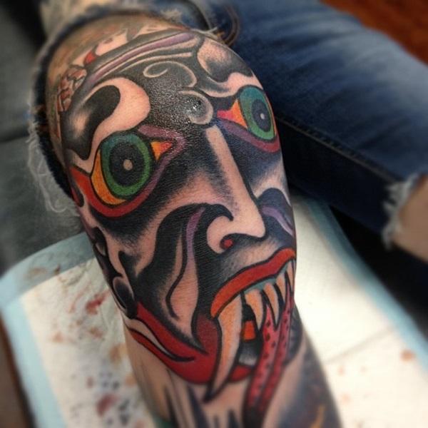 knee tattoos photo - 30