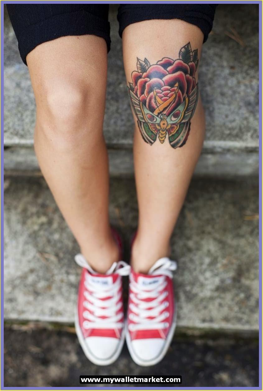 knee tattoos photo - 31