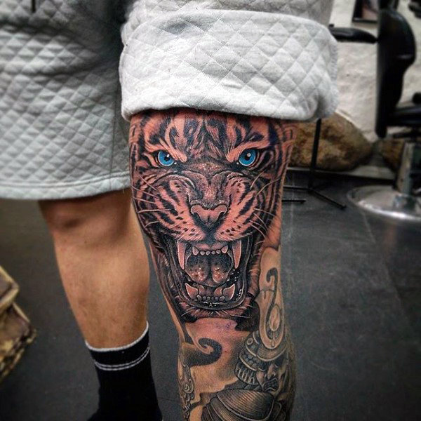 knee tattoos photo - 34