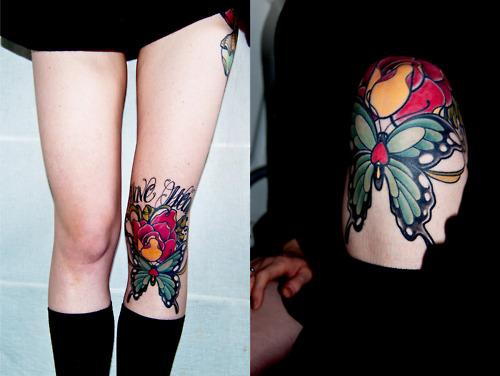 knee tattoos photo - 35