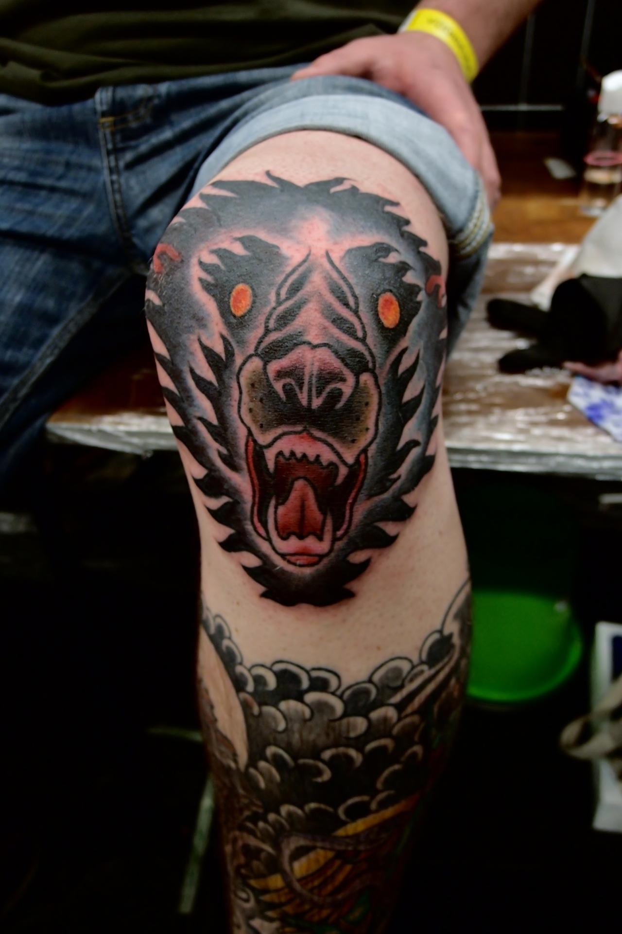 knee tattoos photo - 41