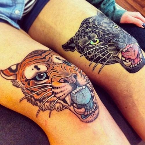knee tattoos photo - 9