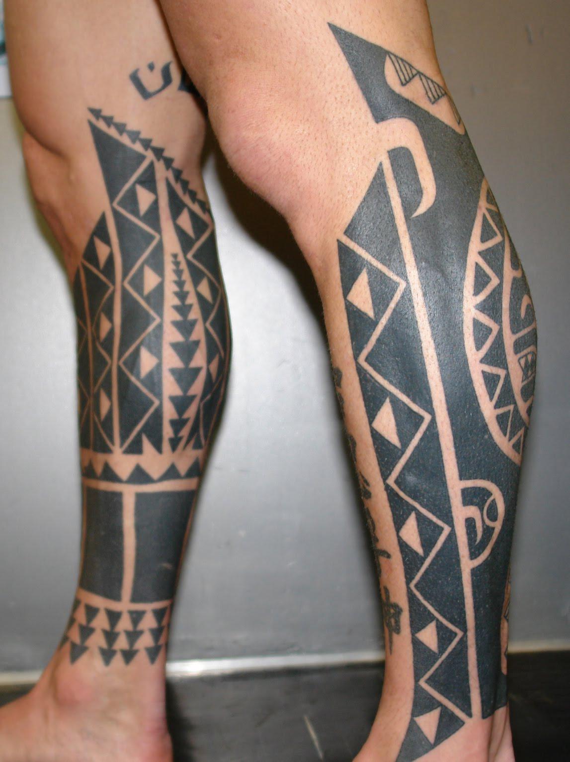 leg tattoos photo - 10