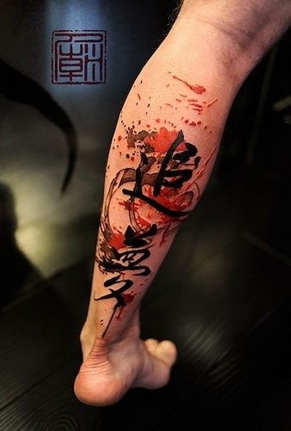 leg tattoos photo - 12
