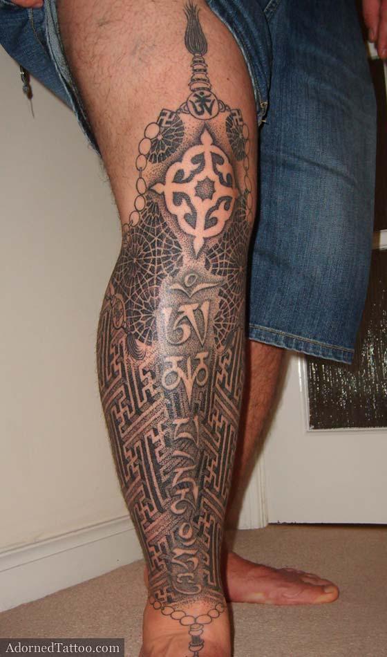 leg tattoos photo - 20