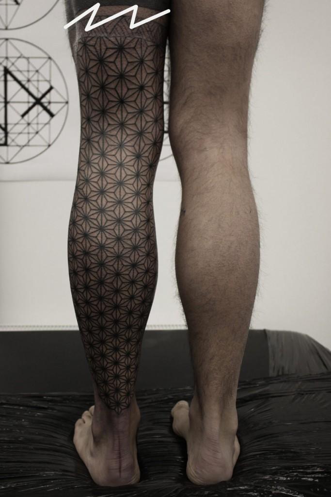 leg tattoos photo - 25