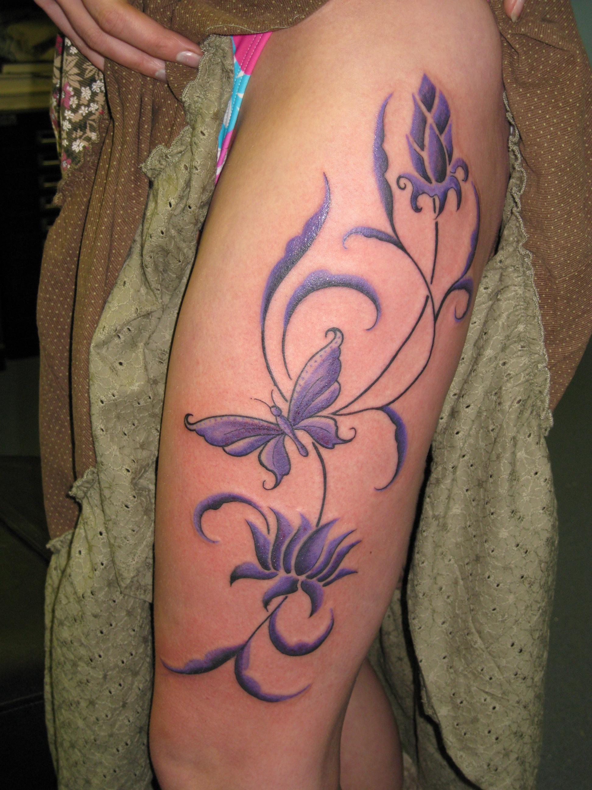 leg tattoos photo - 29