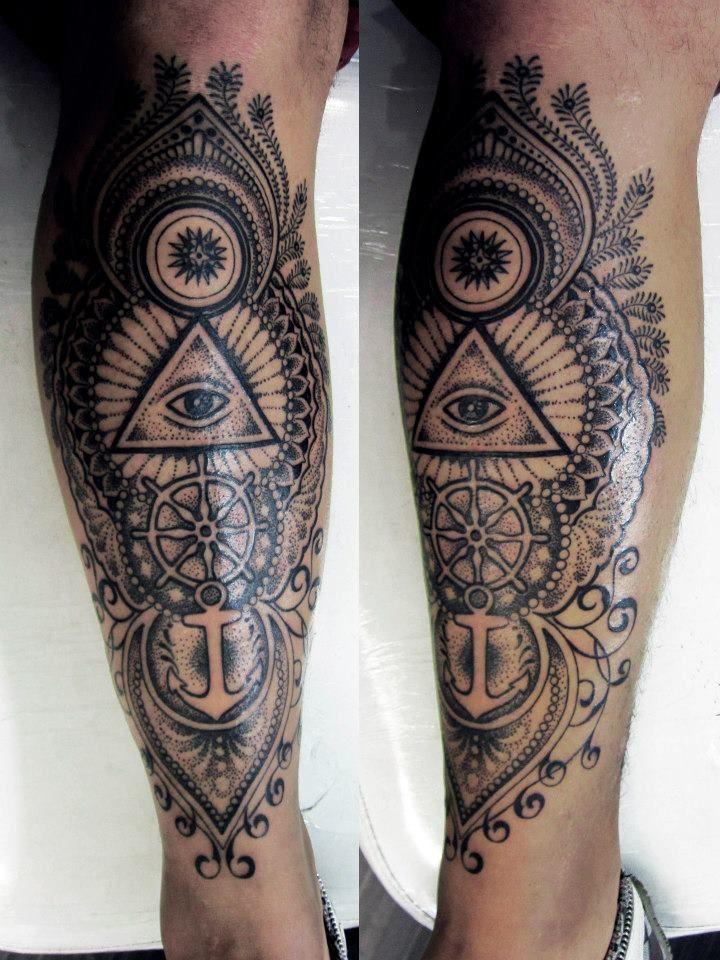 leg tattoos photo - 7