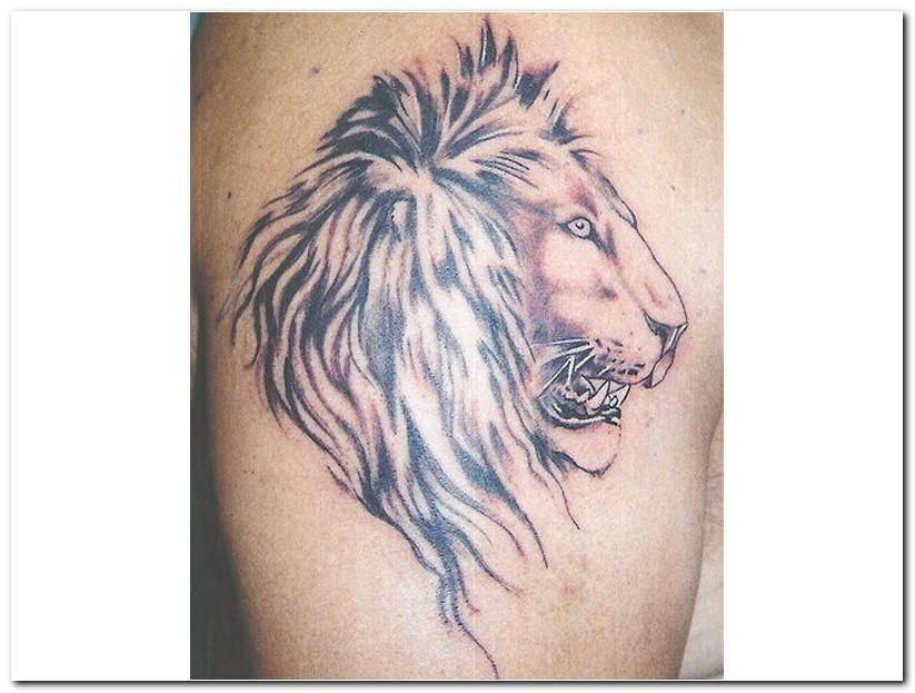 leo tattoos photo - 22