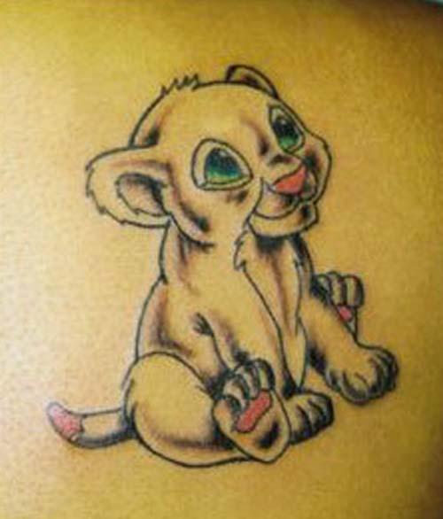 leo tattoos photo - 29