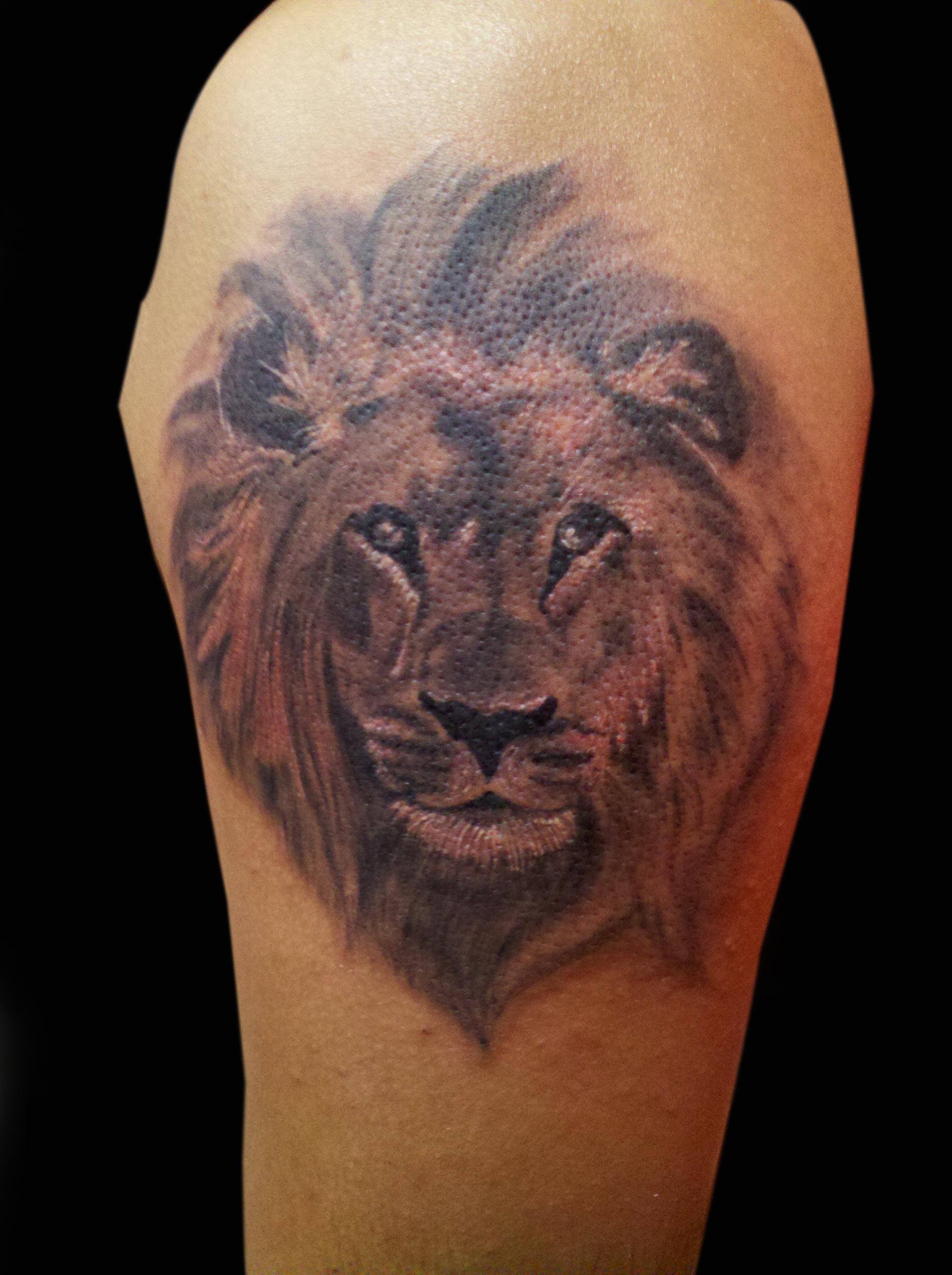 leo tattoos photo - 36