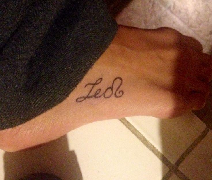 leo tattoos photo - 37