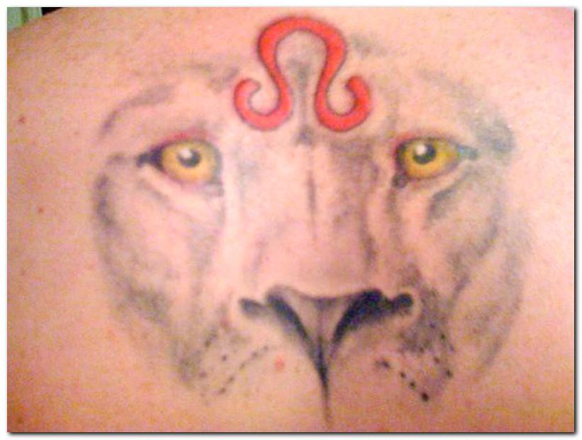 leo tattoos photo - 5