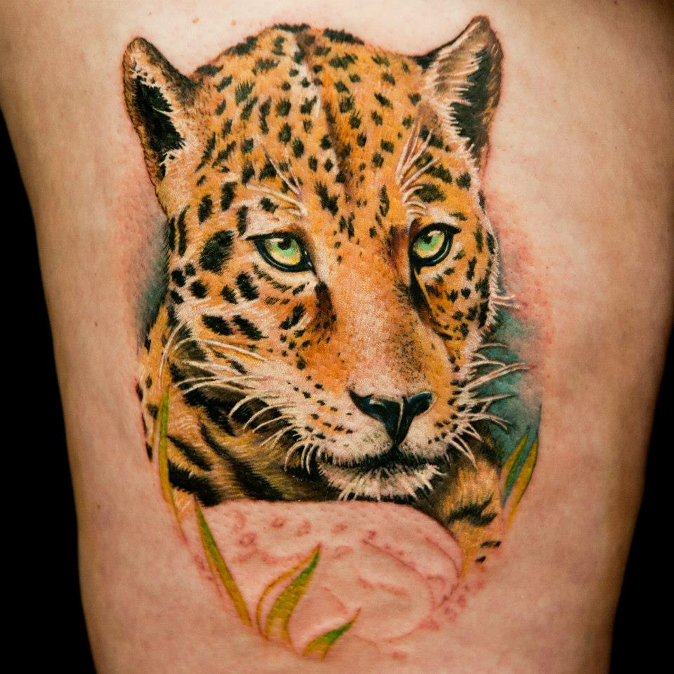 leopard tattoos photo - 1