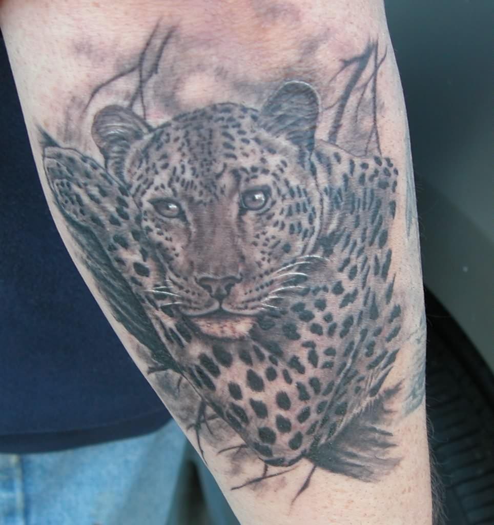 leopard tattoos photo - 11