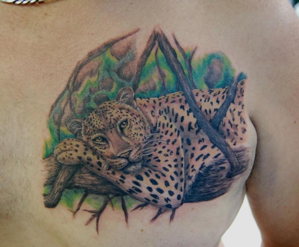 leopard tattoos photo - 19