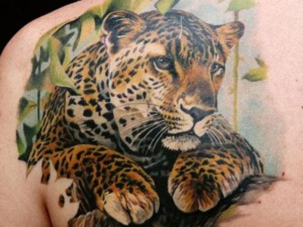 leopard tattoos photo - 26