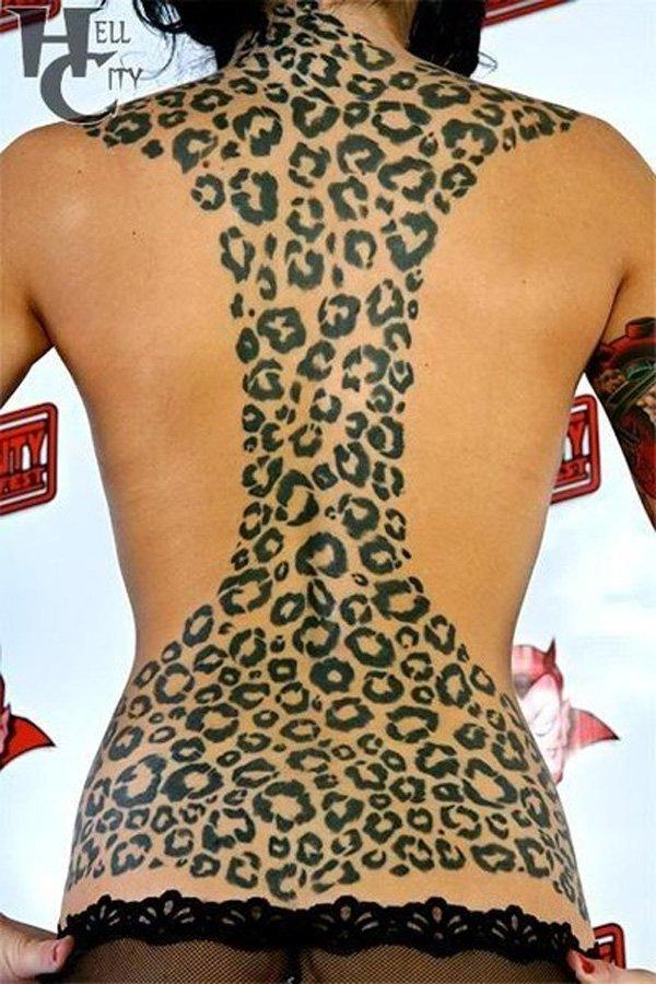 leopard tattoos photo - 29