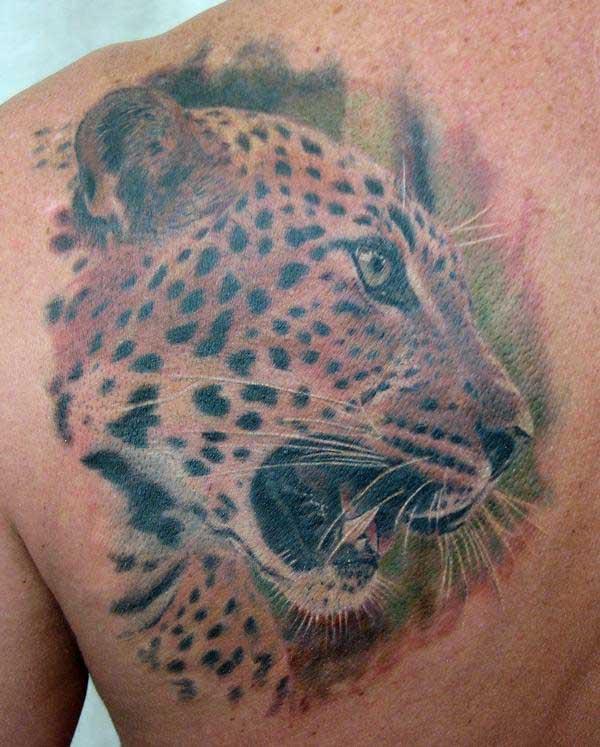 leopard tattoos photo - 4