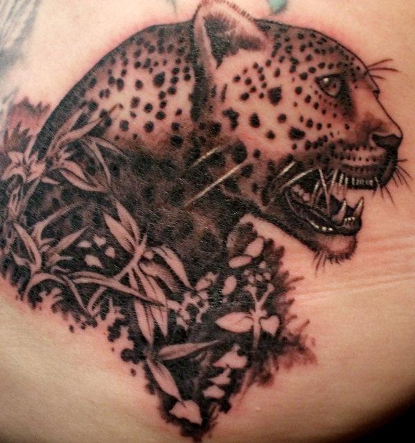 leopard tattoos photo - 6