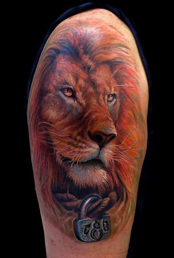 lion tattoos photo - 29