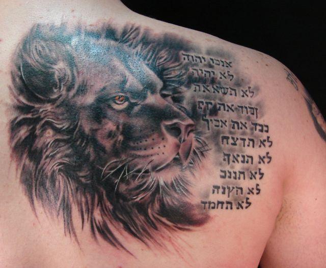lion tattoos photo - 30