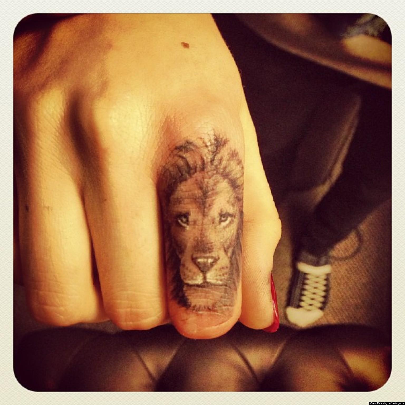 lion tattoos photo - 32