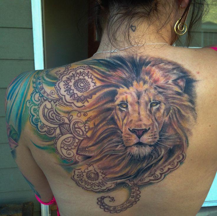 lion tattoos photo - 35