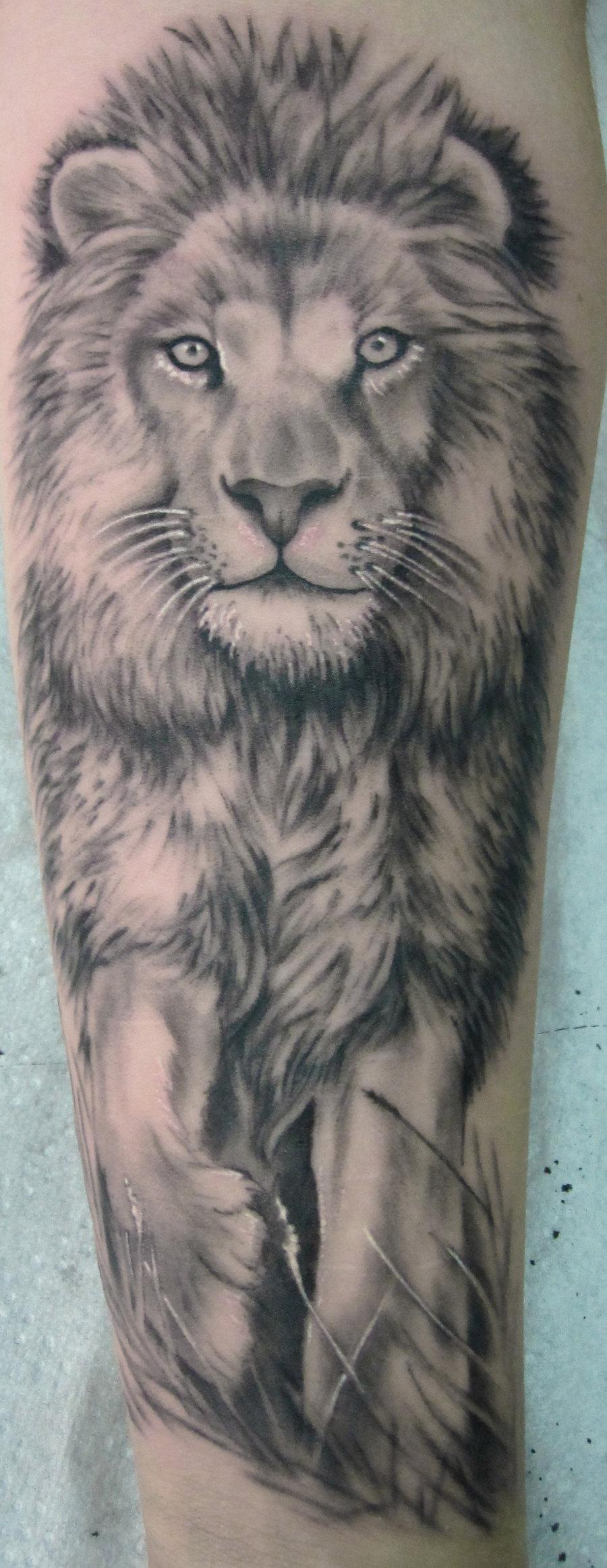 lion tattoos photo - 36