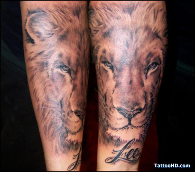 lion tattoos photo - 6