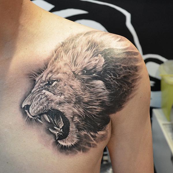 lion tattoos photo - 7