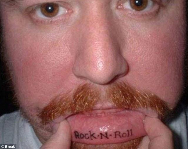 lip tattoos photo - 13