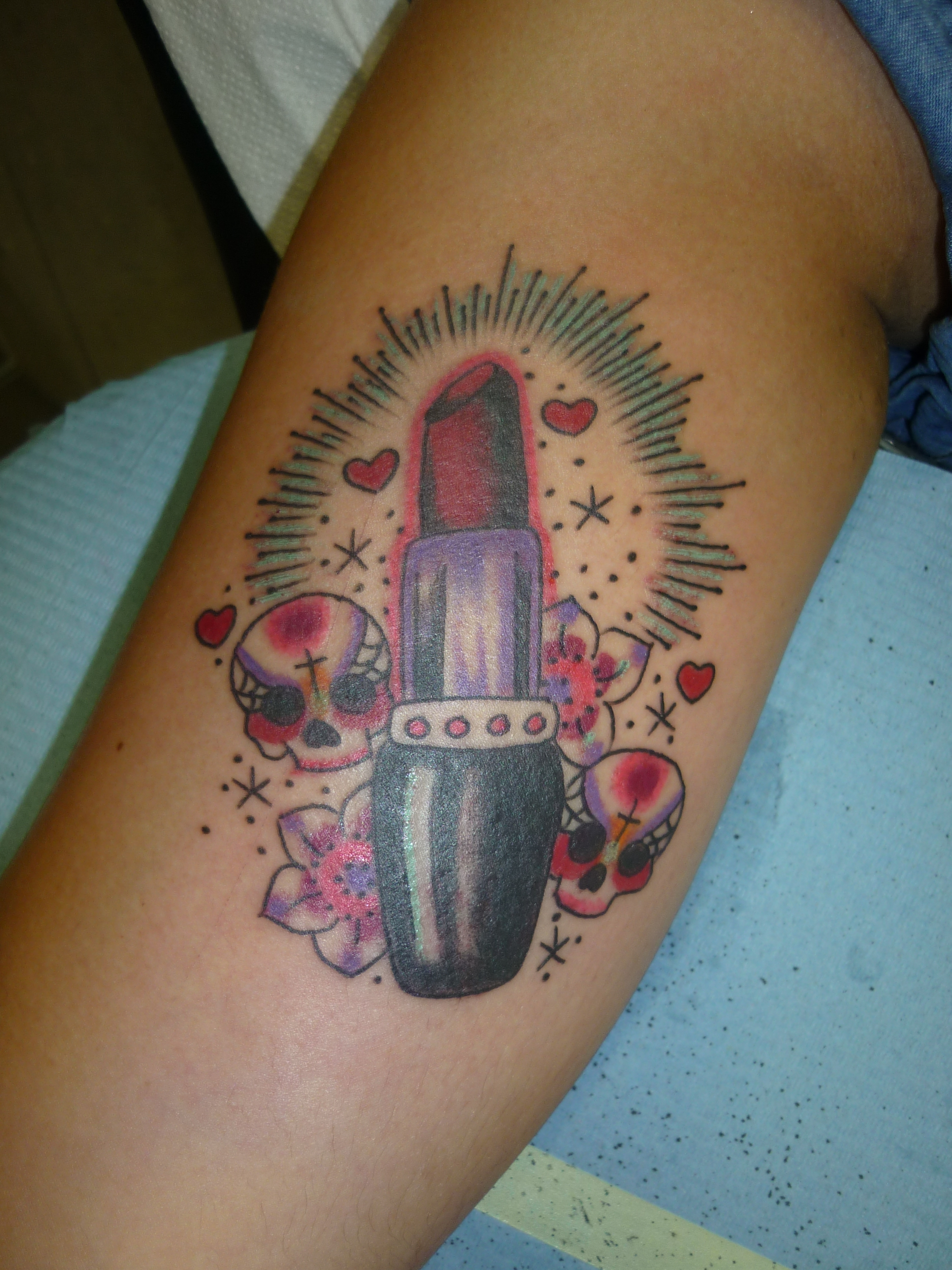 lipstick tattoos photo - 8