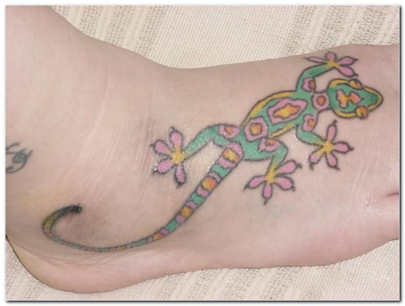 lizard tattoos photo - 15
