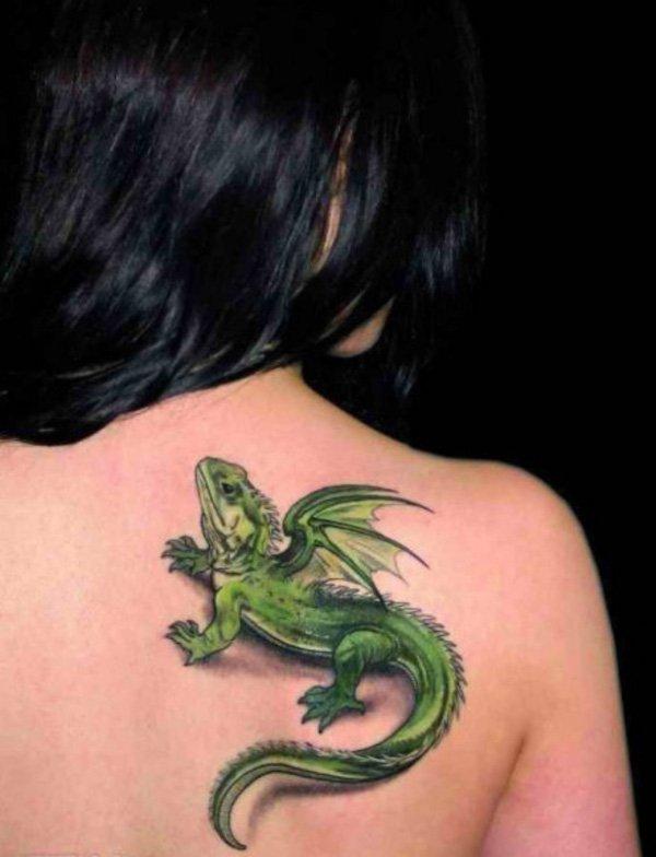lizard tattoos photo - 18