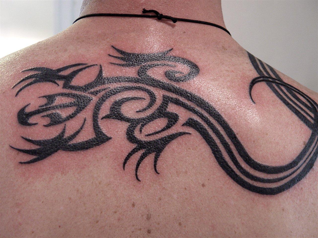 lizard tattoos photo - 31