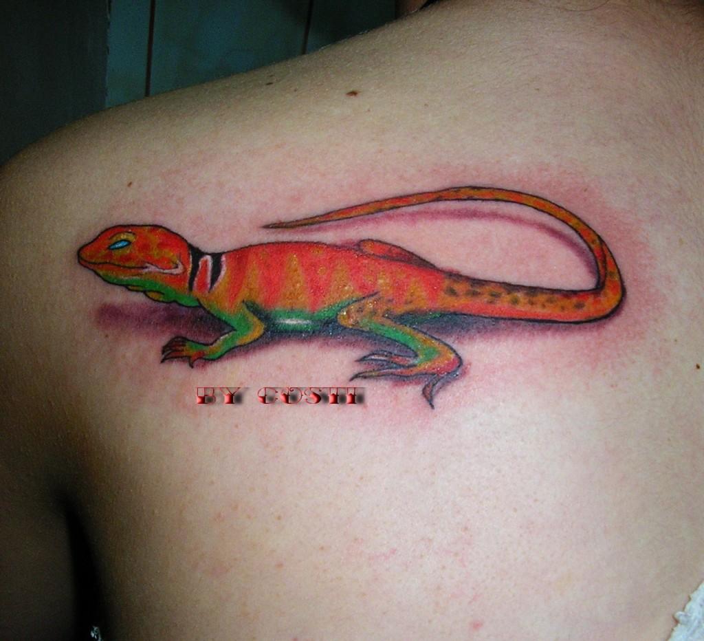 lizard tattoos photo - 6