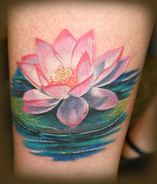lotus tattoos photo - 1