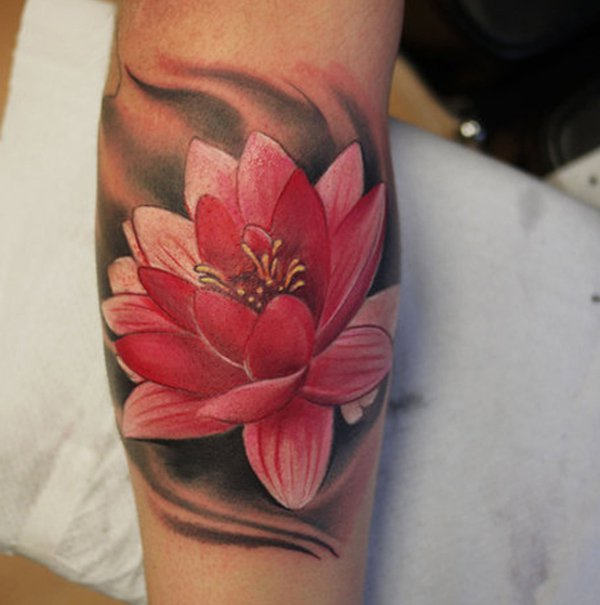 lotus tattoos photo - 10