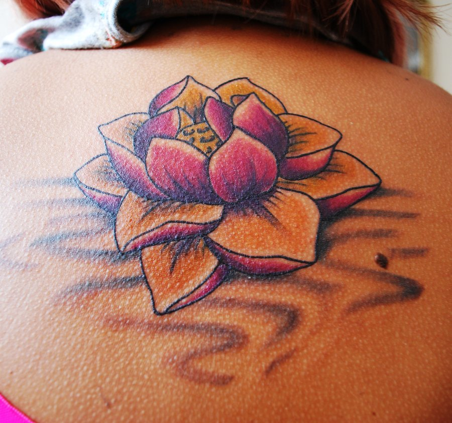 lotus tattoos photo - 12