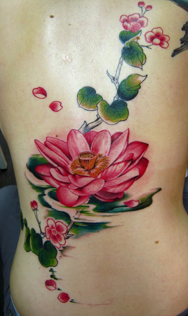 lotus tattoos photo - 14