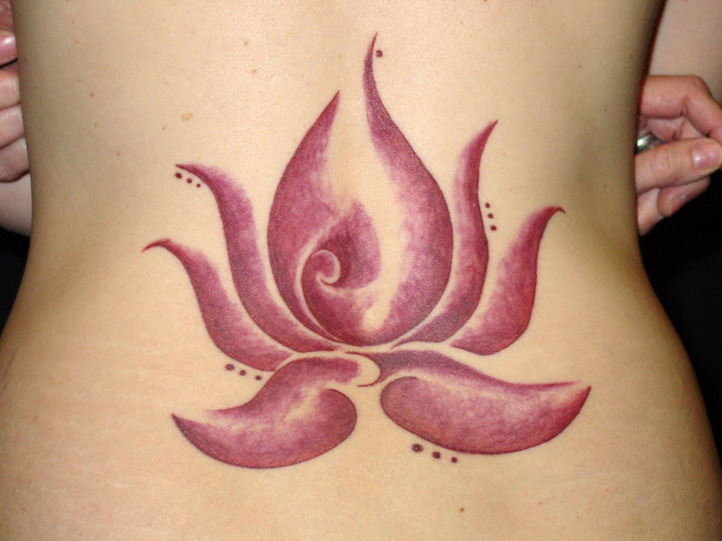 lotus tattoos photo - 16