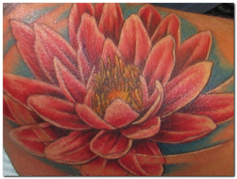 lotus tattoos photo - 17