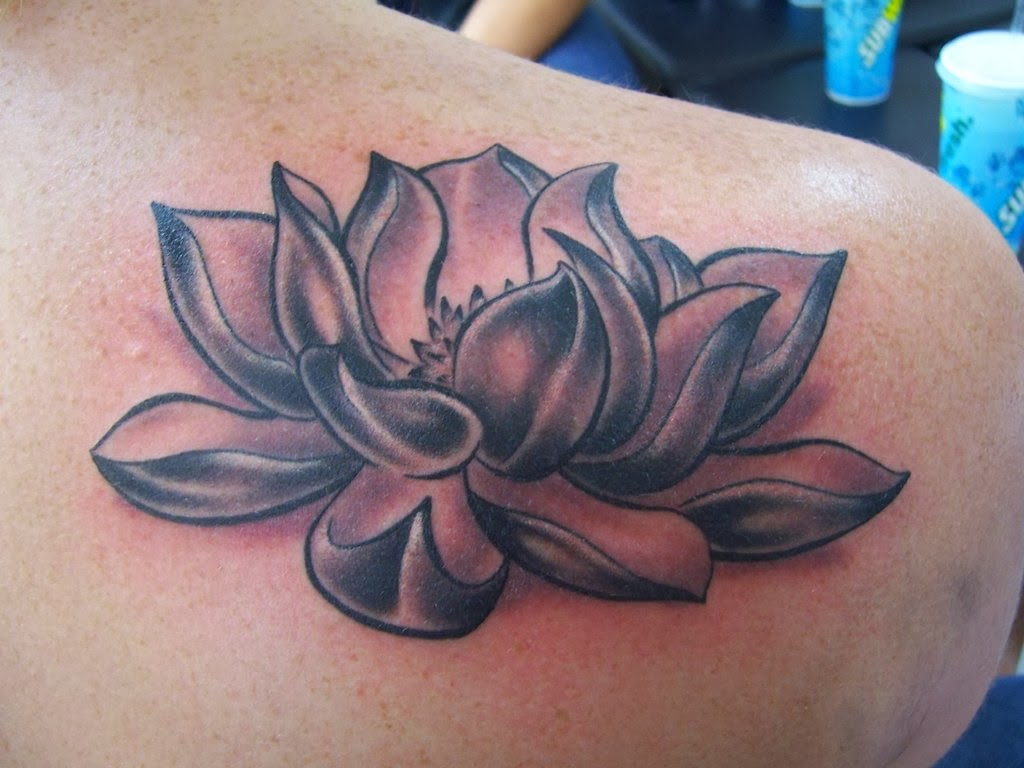 lotus tattoos photo - 19