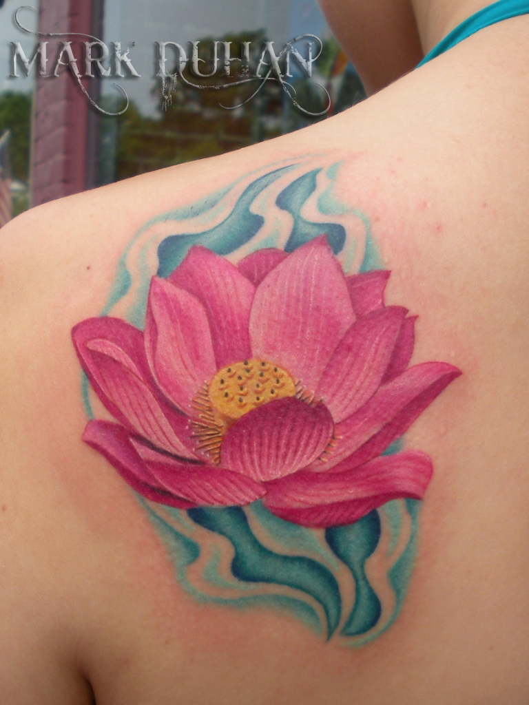 lotus tattoos photo - 27