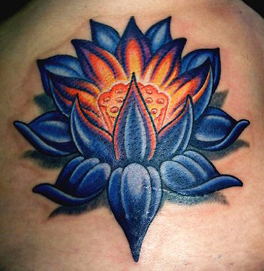 lotus tattoos photo - 3