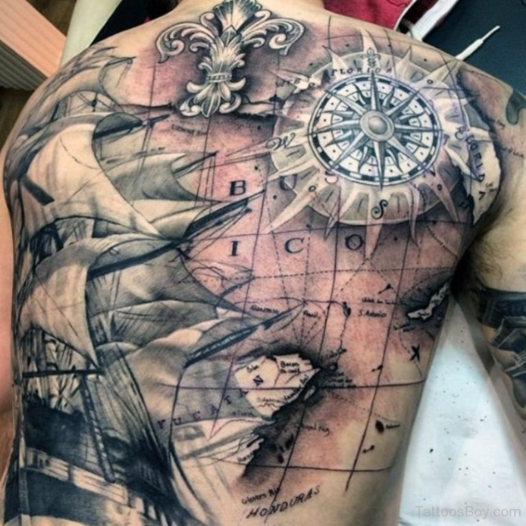 Map Tattoos Tattoo Ideas And Design