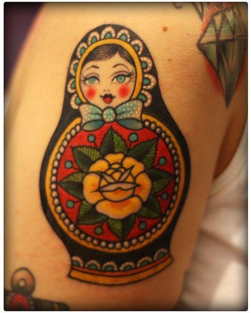 matryoshka tattoos photo - 1