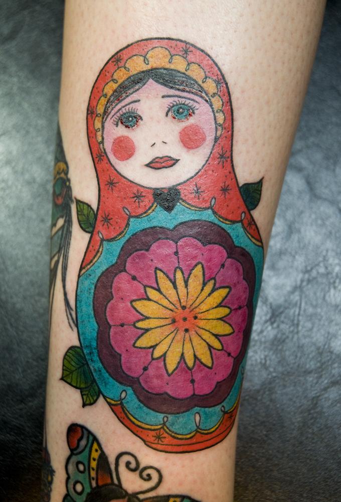 matryoshka tattoos photo - 3