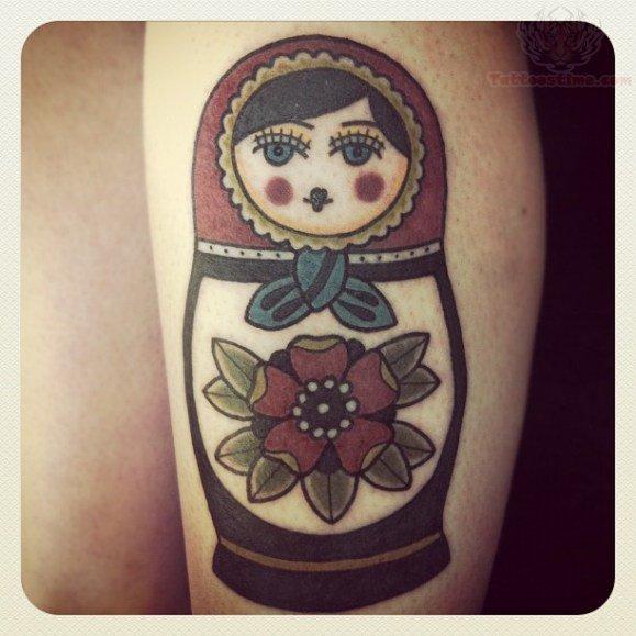 matryoshka tattoos photo - 4